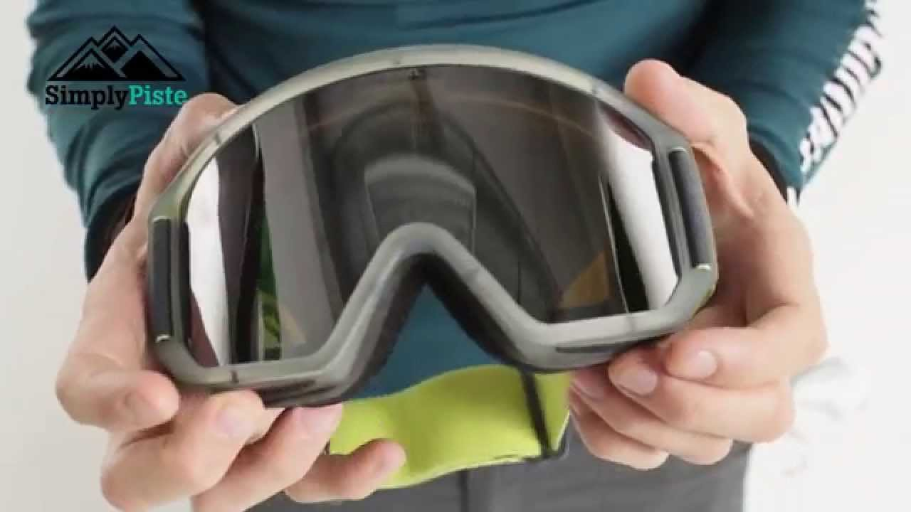 Anon Relapse Goggle Slate With Silver Solex Lens Www Simplypiste Com Youtube