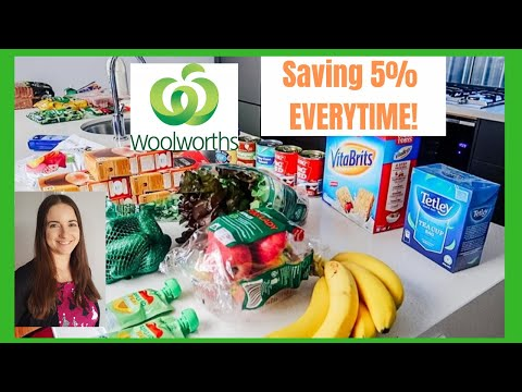 WOOLWORTHS ONLINE - EASY WAYS  TO SAVE MONEY    BUDGET WOOLWORTHS GROCERY HAUL AUSTRALIA MAY 2020