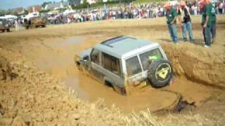4x4 Patrol GR Trial, passage de la fosse - Servavillaise 2009 - Servaville4x4 - le 06.09