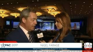 Nigel Farage at CPAC 2017 RSBN Interview
