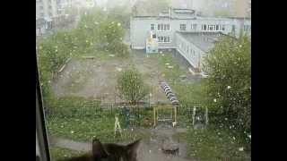 Снег и котЭ в Кемерово - 2 июня 2013
