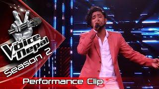 "Arif Rauf ""Maile Geet Chodi Aaye"" - LIVE -The Voice of Nepal Season 2 - 2019"