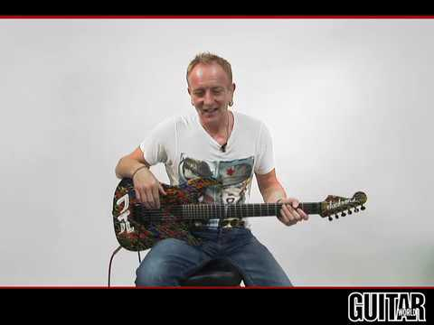 Phil Collen (Def Leppard) - Guitar Lesson