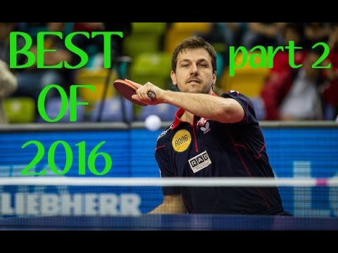 Table Tennis - Best Of 2016 (part 2)