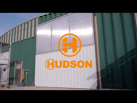 Hudson Group - Bi-Fold Doors: Built for Agriculture, Industrial & Aviation