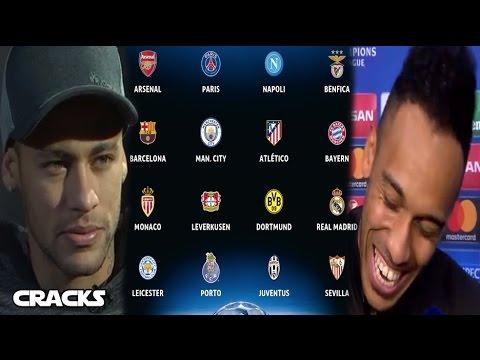 Así se jugarían los 8vos.de CHAMPIONS | Mensaje de AUBAMEYANG a Florentino | NEYMAR: CR7 es un CRACK