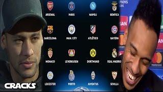 Así se jugarían los 8vos de la UCL | Recado de AUBAMEYANG a Florentino | NEYMAR: CR7 es un CRACK