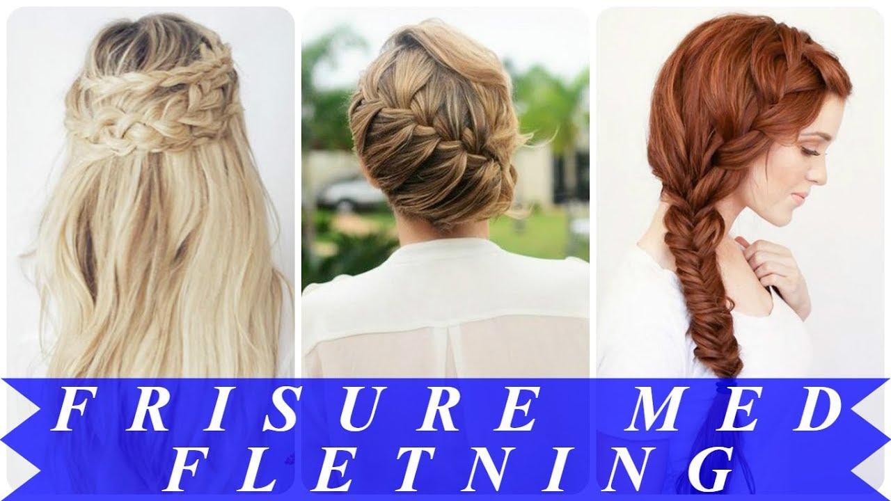 Brudefrisure langt hår