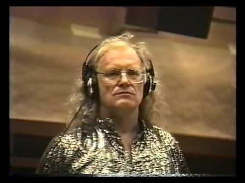 Copernicus and Rock Band BIX recording at RCA Studios, New York. 1992.