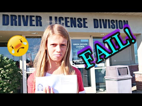 🚗DRIVERS LICENSE FAIL!!