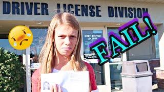 ?DRIVERS LICENSE FAIL!!