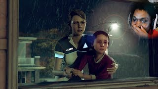 OMG ALICE BABY CLIMB OUT THE WINDOW HURRY | Detroit: Become Human (Part 2)