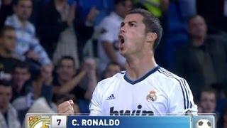 Real Madrid - Deportivo de La Coruña (5-1) Resumen (30/09/12) J6