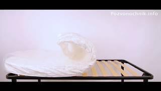 Ортопедический матрас в вакуумной упаковке(На видео представлен беспружинный ортопедический матрас DreamLine DreamRoll (ДримЛайн ДримРолл) высотой 16 см из..., 2012-06-16T12:24:14.000Z)