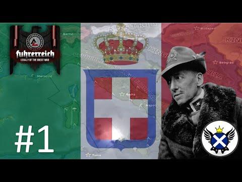 HOI4 Fuhrerreich Repubblica Sociale Italiana EP1 – The