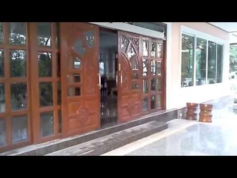 Autodoor ประตูเลื่อน บานไม้สัก  บ้านนายพล 09 5808 8786 www10kanya.com