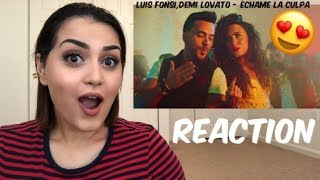 Video Luis Fonsi, Demi Lovato - Échame La Culpa (Official Video) Reaction download MP3, 3GP, MP4, WEBM, AVI, FLV Oktober 2018