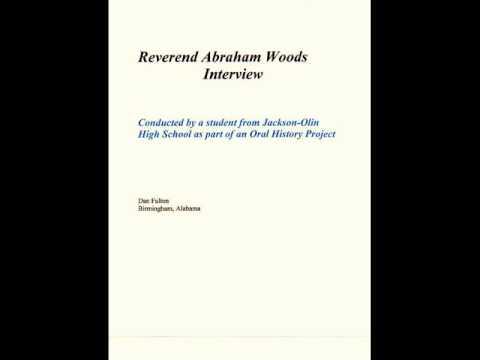 Reverend Abraham Woods Interview