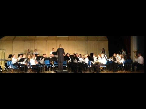 150114 Panama Central School - Senior High Concert Band
