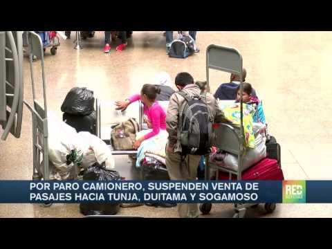 Suspenden Venta De Pasajes A Tunja, Duitama Y Sogamoso