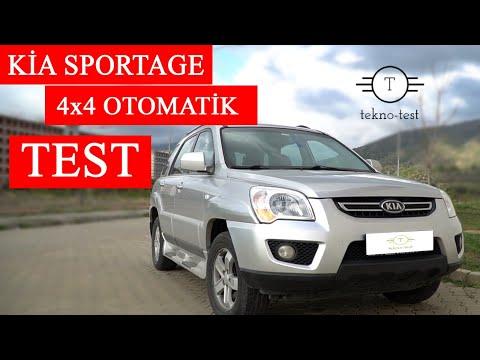 Kia Sportage 4x4 2.0 Test Ettik (2009 Model)