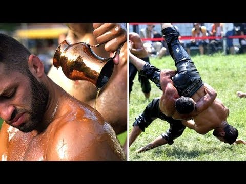 The Strange Sport Of Oil Wrestling In Turkey