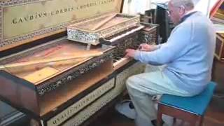 Double Virginal   played by James Nicolson  William Byrd