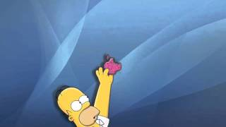 Contesta tu celular - Homero Simpson
