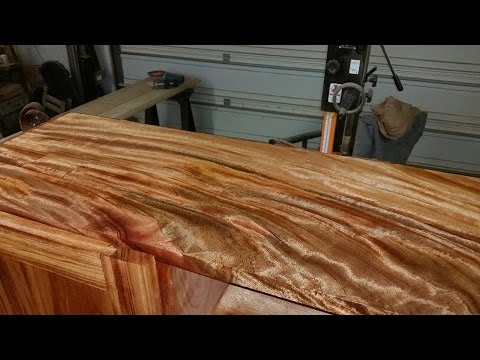 Rubbing Out A Polyurethane Finish Using Pumice And Elbow Grease