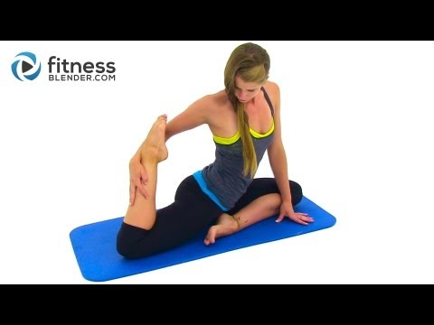 Goodbye Stress Calming Stretching Workout Full Body Yoga Infused Stretching Routine