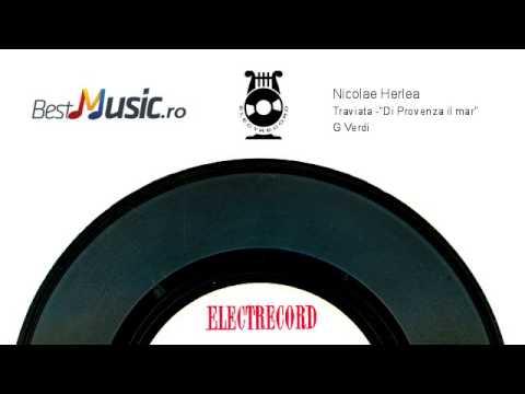 Nicolae Herlea  Traviata -Di Provenza il mar G.Verdi)