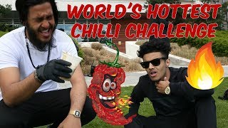 WORLDS HOTTEST CHILLI CHALLENGE IN BIRMINGHAM (Carolina Reaper)
