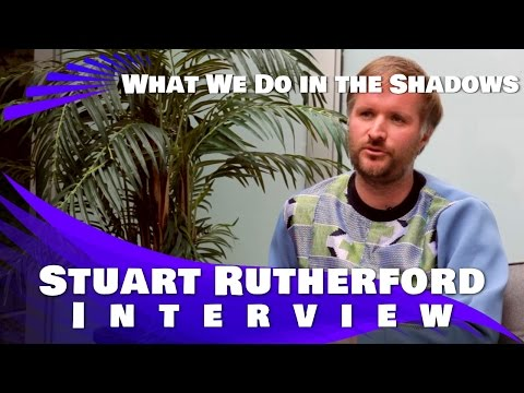 Stu Rutherford - What We Did In The Shadows - Interview (2015)