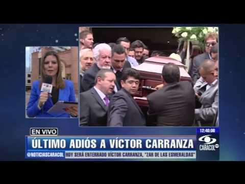 Entre Lágrimas Y Temor Despiden A Víctor Carranza En