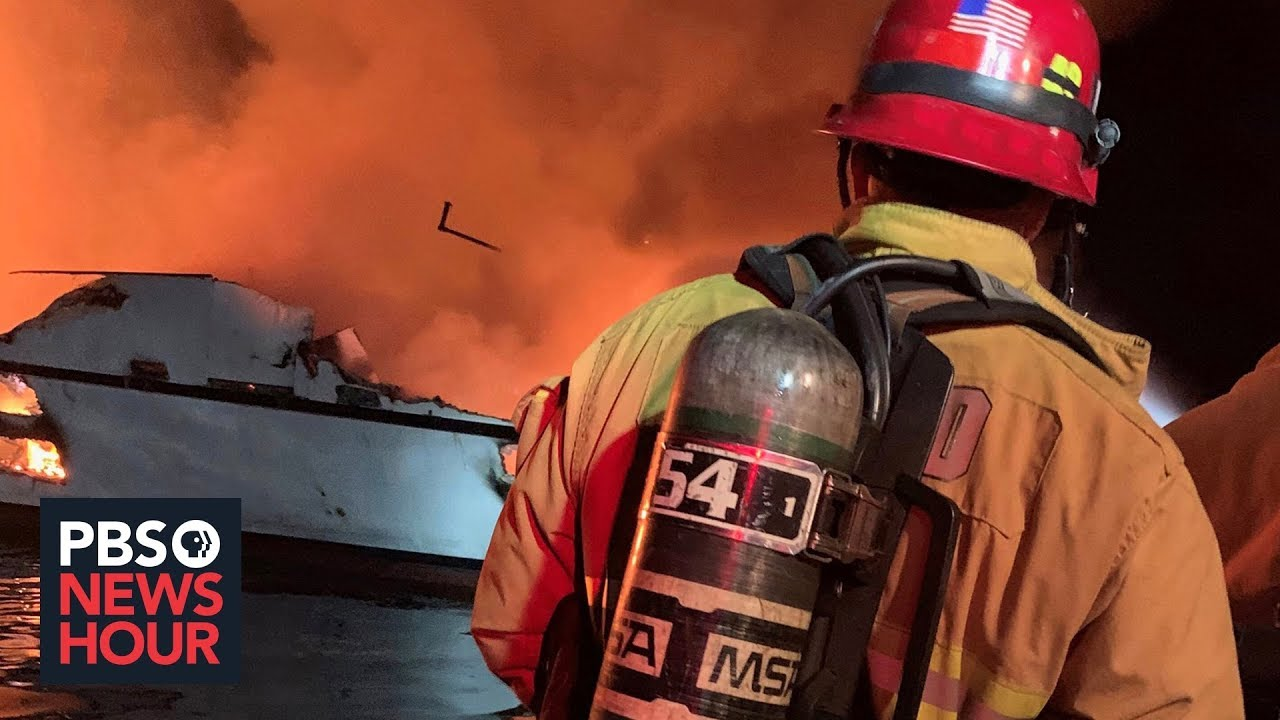 At least 4 dead in boat fire off California coast