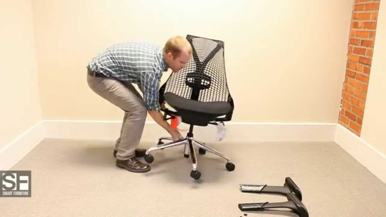SmartFurniturecom Herman Miller Sayl Chair Assembly YouTube - Sayl chair