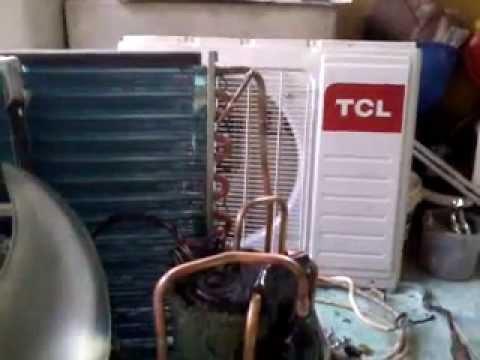 Mengakali Kompressor rotary Macet AC Merk TCL