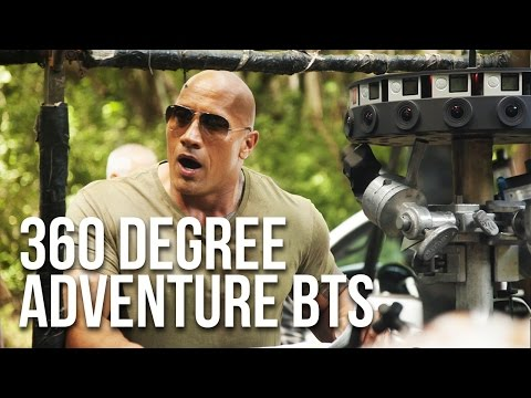 """Behind The Scenes of """"The Rock Presents: Escape From Calypso Island - A 360 VR Adventure"""""""
