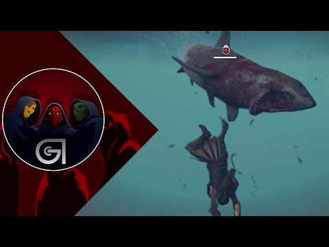 I FOUGHT A SHARK!!!  Assassins Creed Odyssey Naval Combat Gameplay E3 2018