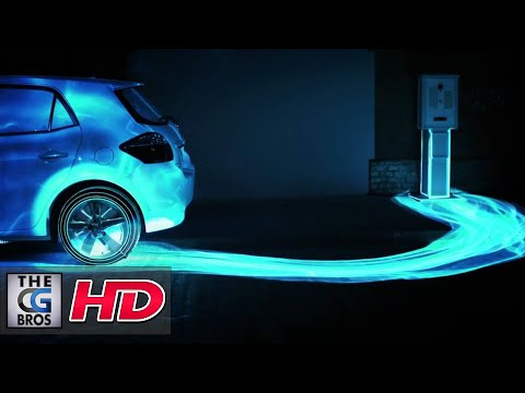 """CGI 3D Projection Mapping HD:  """"Get Your Energy Back"""""""