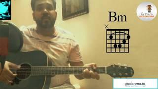 MANWAA | GUITAR COVER / CHORDS | SUNIDHI CHAUHAN | OCTOBER / Guitarena Music