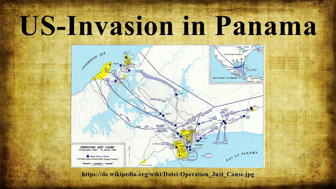 Us Invasion In Panama You