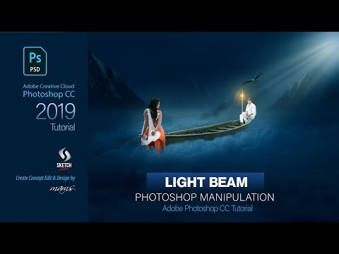 Photoshop Manipulation Light Beam Effects I Sketch Station thumbnail