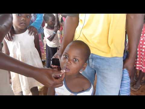 Calling out for National Health Week in Mozambique