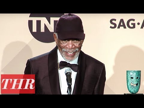 Download Youtube: Why Morgan Freeman Stopped Midspeech & Who He Said Hello to During Acceptance   SAG Awards 2018