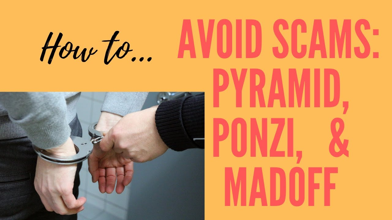 Pyramid schemes, Madoff victims, Scams, Schemes, and Swindles