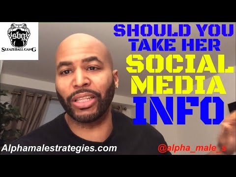 Fear Your Woman Has Someone Else During Break-Up & Should You Take A Woman&39;s Social Media Info