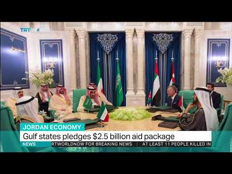 Gulf states pledge financial aid package to Jordan