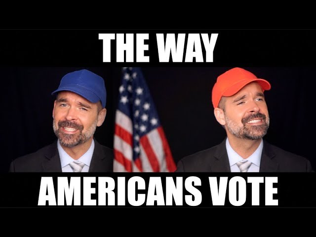 The Way Americans Vote