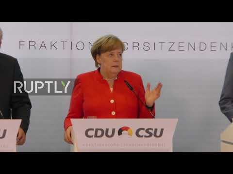 Germany: 'Risks' must be reduced before forming eurozone banking union - Merkel